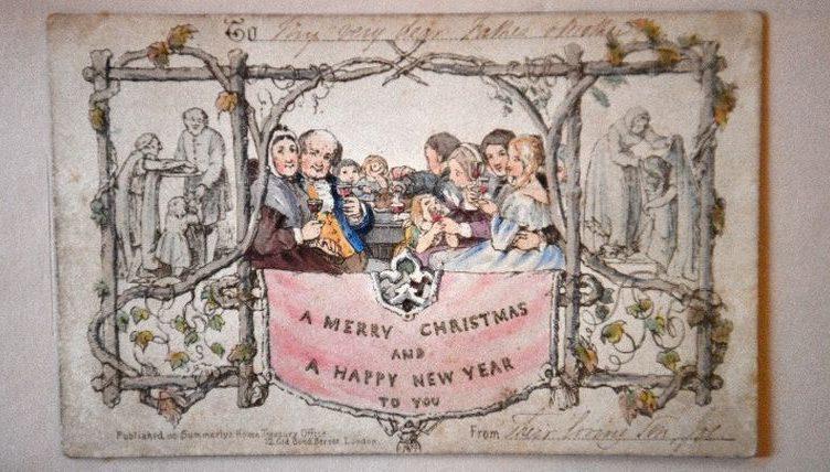 Στο Μουσείο του Καρόλου Ντίκενς η πρώτη, παγκοσμίως, έντυπη  χριστουγεννιάτικη κάρτα | Εφημερίς Δημοπρασιών & Πλειστηριασμών | Από το  1929